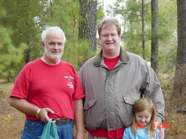Dad, Me, and the Spawn, Fall 2003.