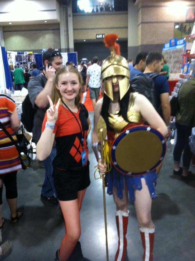 Harley and Amazon Warrior WW