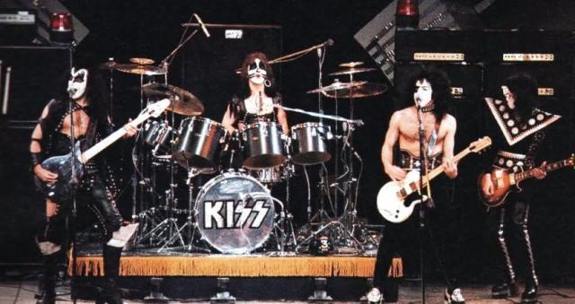 KISS midnight special 1974