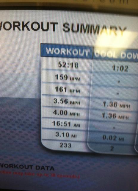 Workout 6 Jun 16