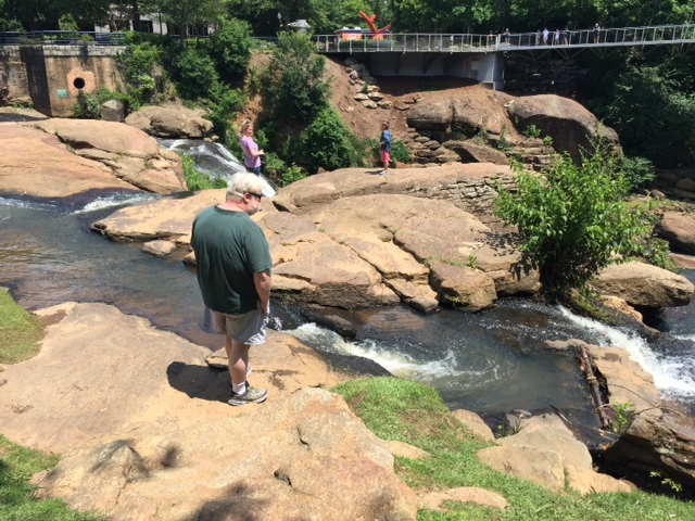 Me at Greenville Falls