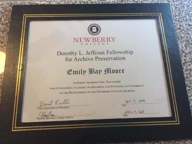 Emily Certificate