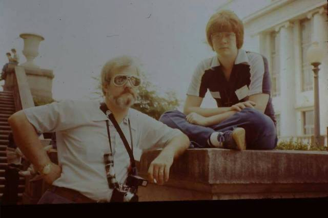 Dad and Me in DC 1979