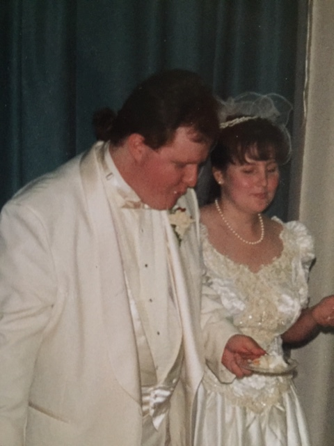Wedding Pic 9 Oct 93