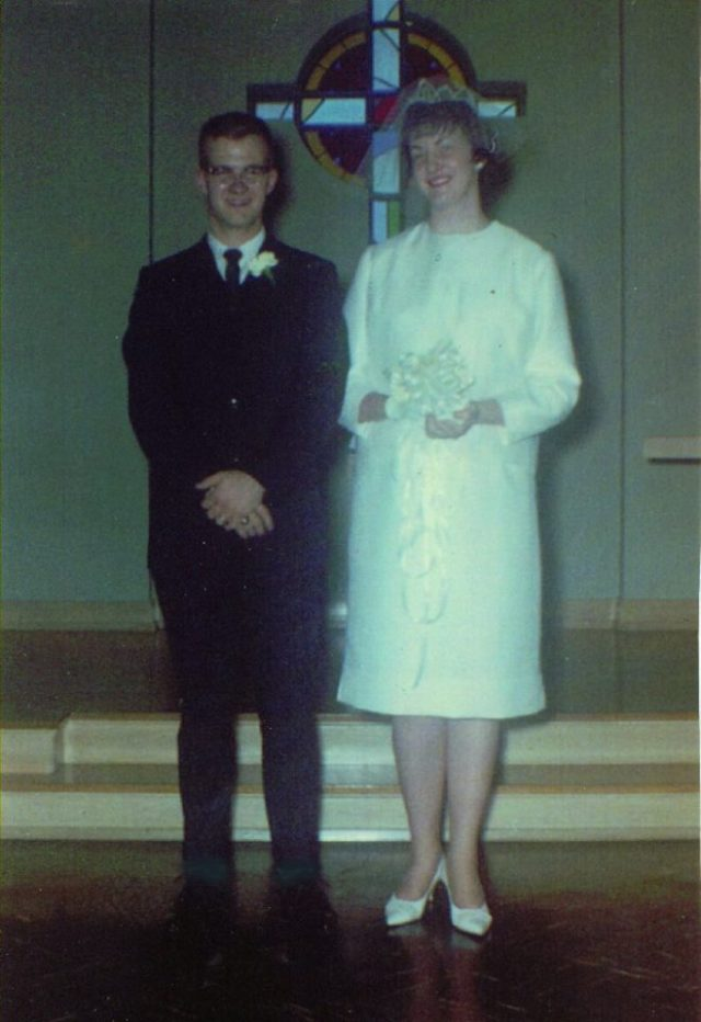 Mom Dad Marriage 8 Jun 63