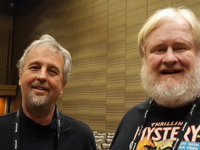 With Jeff Vorzimmer at Bcon 19