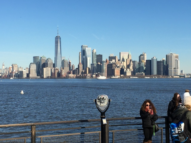 NYC Skyline from Liberty Island